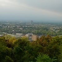 Photo taken at Lehigh University Lookout by Alyssa Marie R. on 10/3/2014