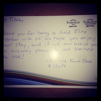 Photo taken at Fairfield Inn & Suites Phoenix Chandler/Fashion Center by Bert T. on 5/20/2014