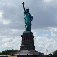 Photo taken at Statue of Liberty Ferry by Jon C. on 6/23/2013