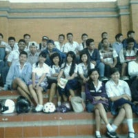 Photo taken at SMKN 5 Denpasar by Alit A. on 8/19/2013