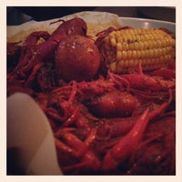 Photo taken at Pappadeaux Seafood Kitchen by Michael F. on 3/4/2013
