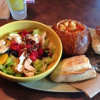 Photo taken at Panera Bread by Jennifer C. on 8/10/2014