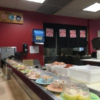 Photo taken at Marinepolis Sushi Land by Connie C. on 2/18/2016