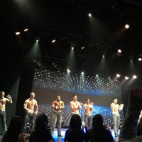Photo taken at Chippendales Theatre at The Rio Vegas by Chau B. on 2/9/2016