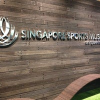 Photo taken at Singapore Sports Museum by Graeme O. on 10/26/2014