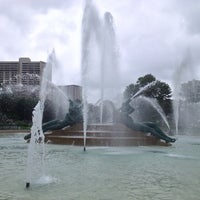 Photo taken at Logan Square by Brian O. on 7/2/2013