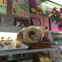 Photo taken at Las Americas Bakery by Nancy K. on 1/12/2014