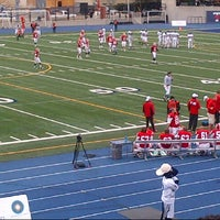 Photo taken at Varsity Stadium by Bajan L. on 10/13/2012