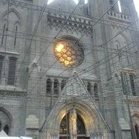 Photo taken at Gereja Katolik Katedral Jakarta by Johannes H. on 12/8/2012
