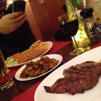 Photo taken at Fred's Steak & Ribhouse by Seda V. on 1/2/2015
