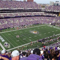 Photo taken at M&T Bank Stadium by Christian R. on 9/15/2013