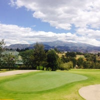 Photo taken at Arrayanes Country Club by Guillermo S. on 8/7/2014