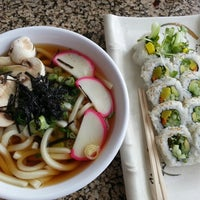 Photo taken at SanSai Japanese Grill by Eileen-Marie Q. on 10/10/2013