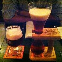 Photo taken at Belgian Beer Café Brussels by Yaren U. on 1/9/2013