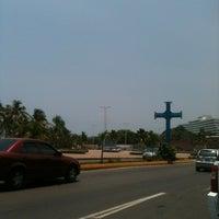 Photo taken at Plaza de la Cruz by Pat R. on 8/21/2013