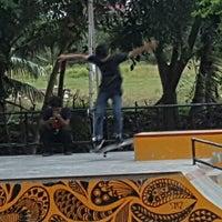 Photo taken at Taman Ratu Safiatuddin by ratna y. on 9/7/2016