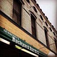 Photo taken at Newberry's Backyard BBQ by Sean P. on 3/5/2014