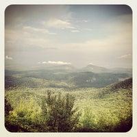 Photo taken at Whiteside Mountain by Sean P. on 8/31/2013