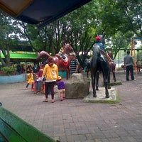 Photo taken at Taman Rekreasi Sengkaling by Daniel Y. on 12/1/2013