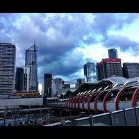 Photo taken at Southern Cross Station by Raf K. on 10/10/2012