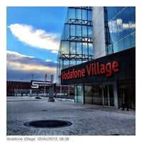 Photo taken at Vodafone Village by Francesco P. on 12/5/2012