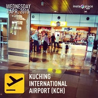 Photo taken at Kuching International Airport (KCH) by Lynn M. on 4/3/2013