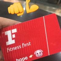 Photo taken at Fitness First by Hope D. on 8/17/2016