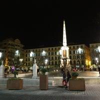 Photo taken at Plaza de la Merced by Jesús P. on 3/27/2013