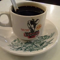 Photo taken at Elephant Bean Cafe by Noraizan S. on 1/5/2013