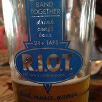 Photo taken at R.I.O.T. In Old Town by Holly M. on 6/21/2014