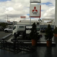 Photo taken at Motorysa Mitsubishi Colombia by Fernando M. on 8/27/2013