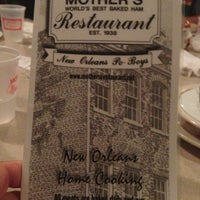 Photo taken at Mother's Restaurant by Jeff D. on 11/12/2012