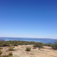 Photo taken at Dorr Mountain by Jessica S. on 4/20/2014