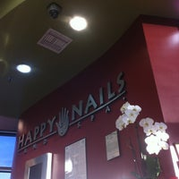 Photo taken at Happy Nails & Spa by Genesis B. on 9/1/2013