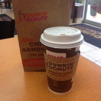Photo taken at Dunkin' Donuts by Joanna H. on 10/23/2013