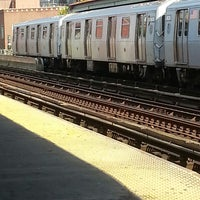 Photo taken at MTA Subway - M Train by Peter R. on 9/13/2013