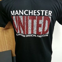 Photo taken at MyManUNITED Clubhouse by Wan Ahmad A. on 8/30/2014