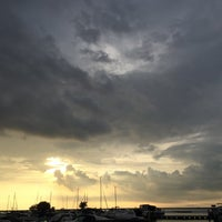 Photo taken at Whiskey Island Volleyball Courts by Gregory W. on 7/7/2016