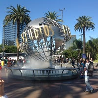 Photo taken at Universal Studios Hollywood Globe and Fountain by Sergey S. on 11/11/2012
