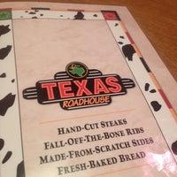 Photo taken at Texas Roadhouse by Ryan B. on 9/20/2013