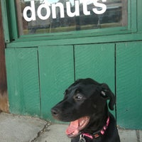 Photo taken at St. Louis Hills Donut Shop by Lisa K. on 9/15/2013