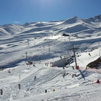 Photo taken at Valle Nevado by Gabriel P. on 7/1/2013