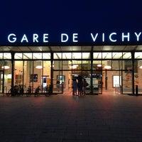 Photo taken at Gare SNCF de Vichy by Batuhan Y. on 7/27/2013