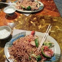 Photo taken at Khan's Mongolian Barbeque by Briar-Rose J. on 10/8/2012
