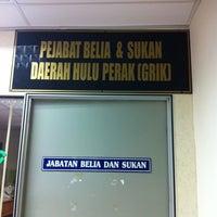 Photo taken at Bangunan Persekutuan Gerik by hanaffi A. on 7/9/2014