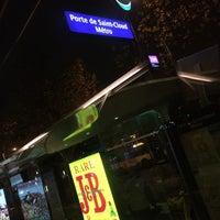 Photo taken at Arrêt Porte de Saint-Cloud [PC1,22,62,72,175,N12,N61] by Shuji M. on 11/27/2015