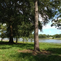 Photo taken at Walsingham Park by Devin L. on 9/5/2013