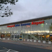 Photo taken at Liverpool John Lennon Airport (LPL) by Trota M. on 9/20/2013