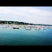 Photo taken at Vineyard Haven Harbor by Jim N. on 7/27/2012