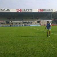 Photo taken at Soevereinstadion | Lommel United by Jeroen B. on 10/21/2012